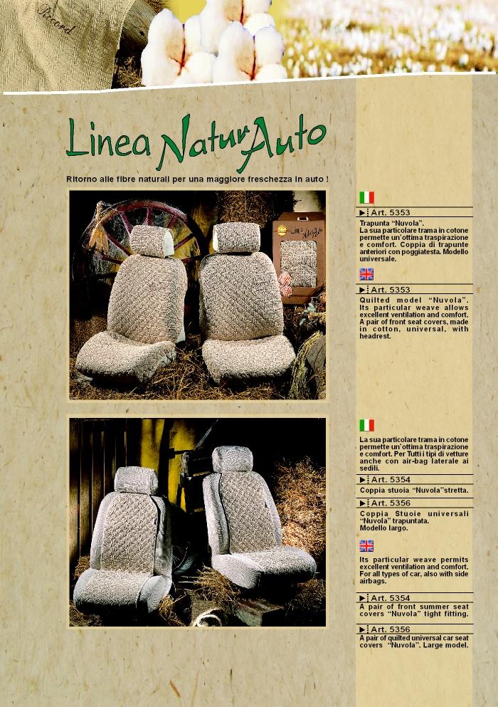 Coprisedili fodere linea natura 5354 by prodotti - Natura home catalogo ...