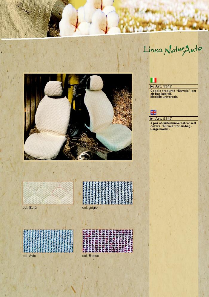 Coprisedili fodere linea natura by prodotti record - Natura home catalogo ...