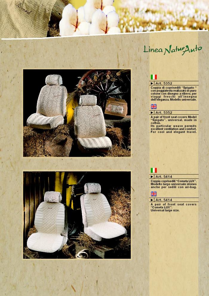 Coprisedili fodere linea natura 5414 by prodotti - Natura home catalogo ...